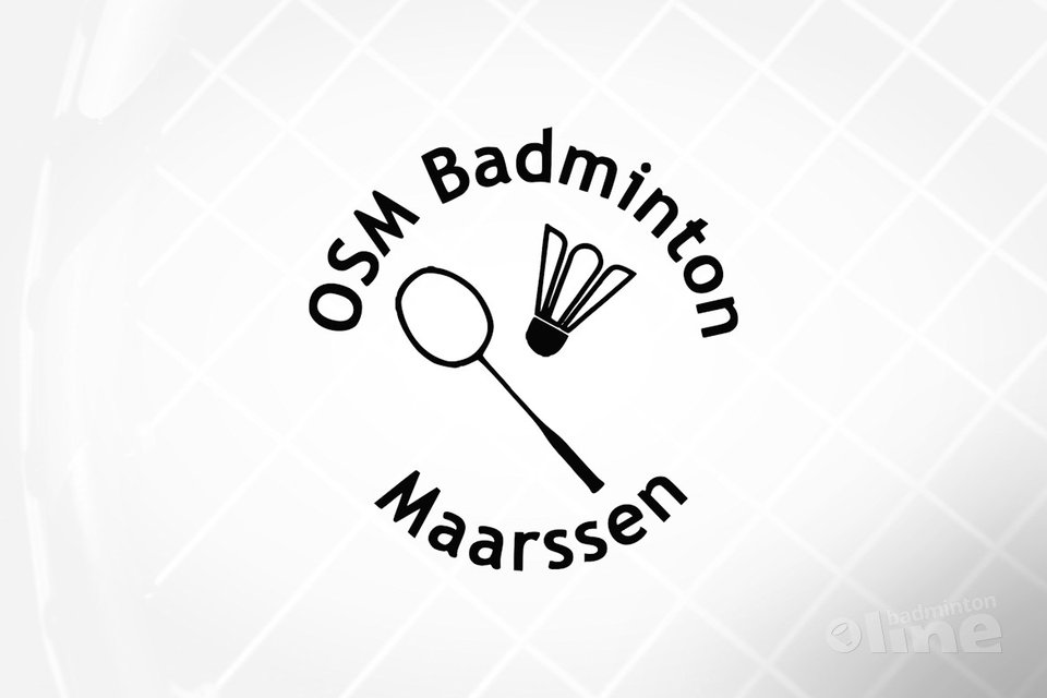 logo OSM Badminton in Maarssenbroek