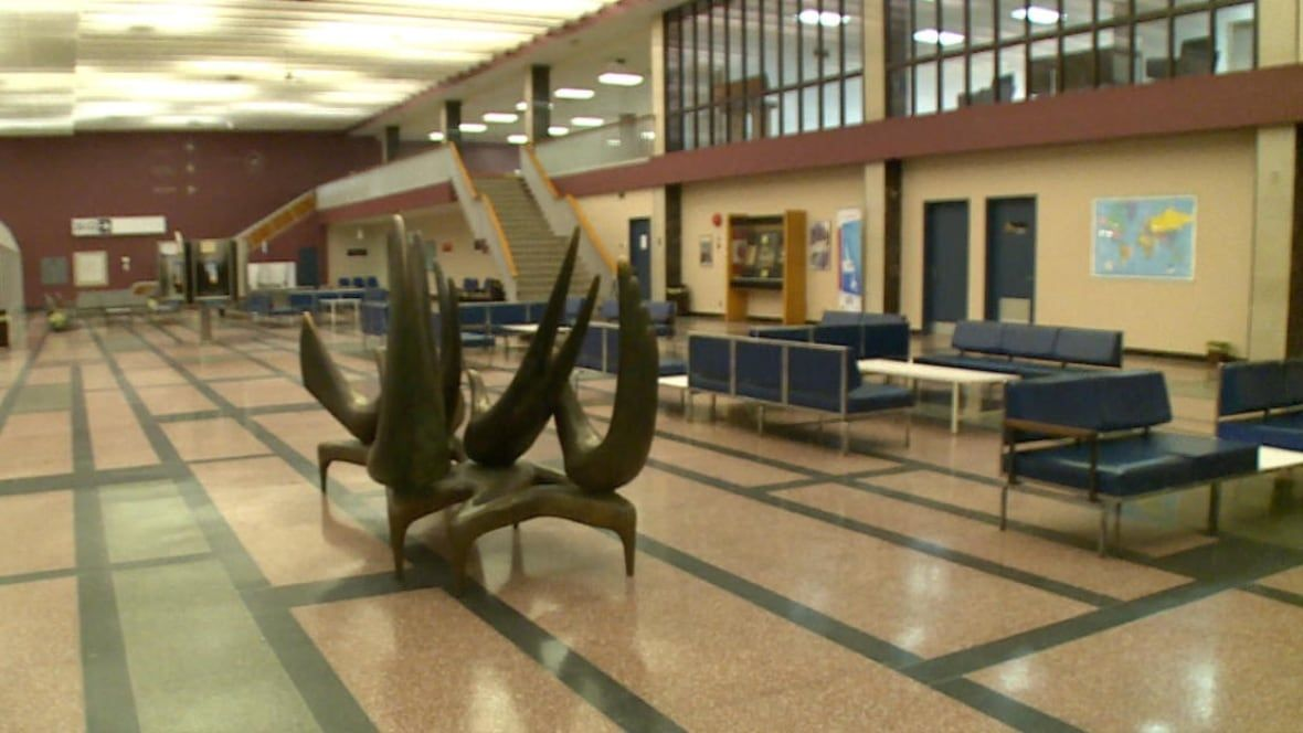 Gander Airport reports record numbers, but grounded by aging terminal