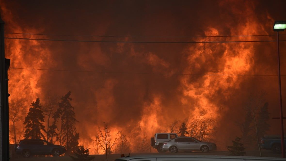 It's not just Alberta: Warming climate-fuelled fires are increasing