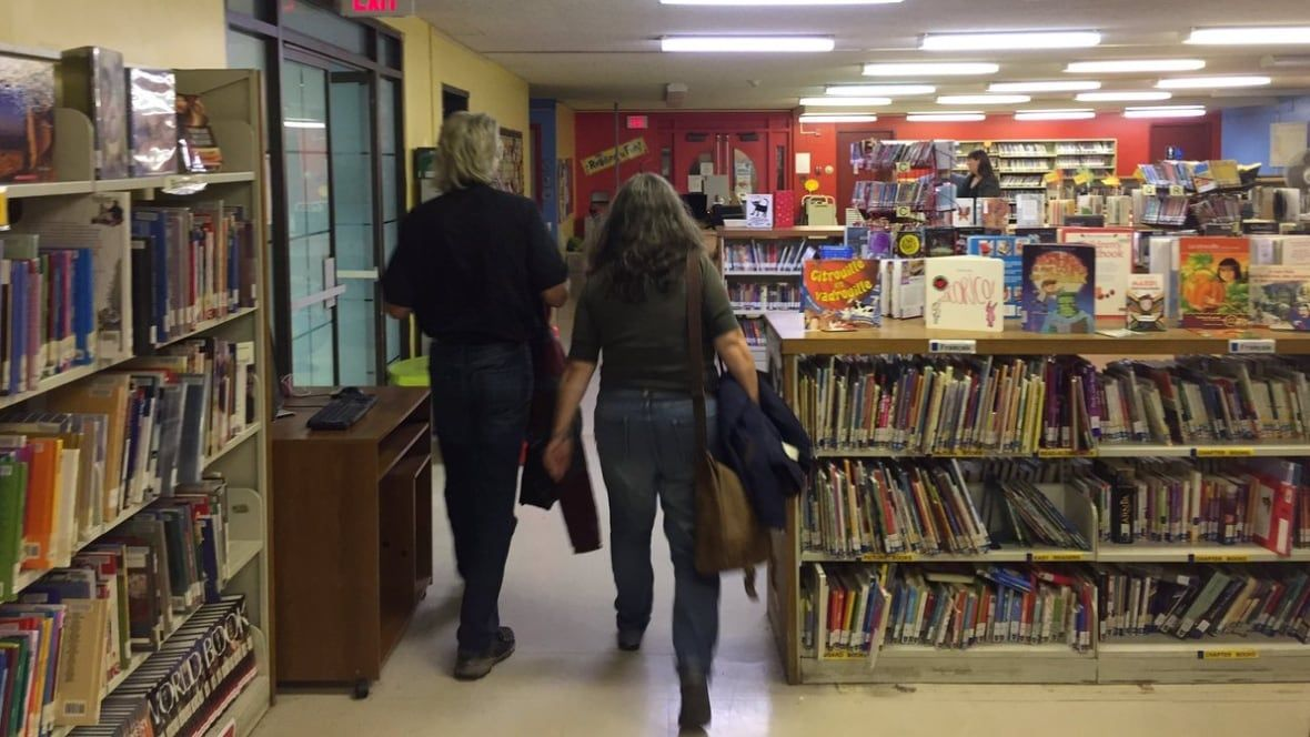 St. John's public library meeting breaks up with most of attendees walking out