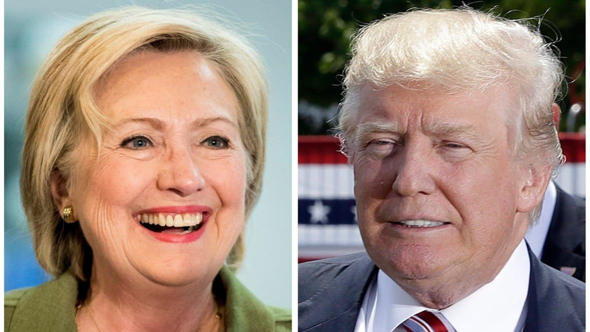 How election night in America could unfold in favour of Clinton or Trump
