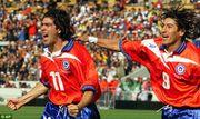 想當年,一對彈跳力驚人的智利箭頭 - 森莫蘭奴和沙拉斯