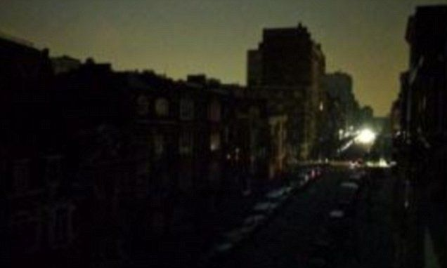 Brussels is plunged into darkness by massive power cut