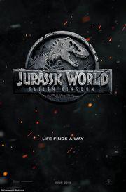 《侏羅紀世界2》首張海報曝光,經典名言將再重現!