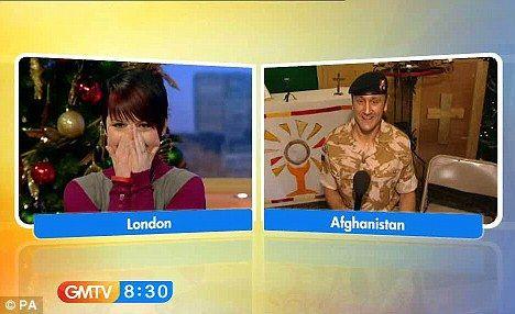駐阿富汗英兵 用電視越洋求婚