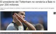 热刺为Bale标价:2亿