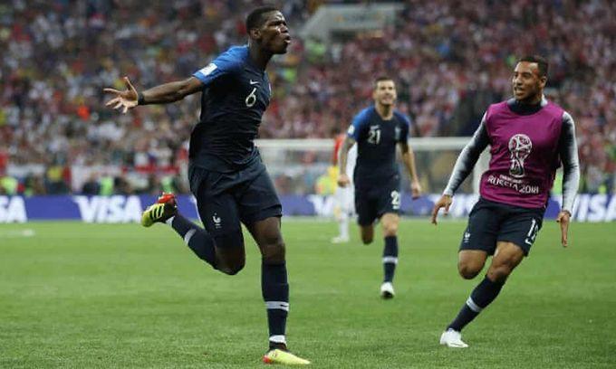 世界盃決賽戰賽事精華- 法國 V 克羅地亞