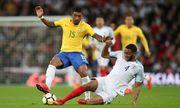 友誼賽精華-英格蘭 0-0 巴西│費蘭甸奴遠射中柱 雙方握手言和