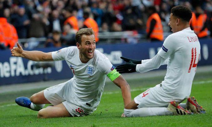 歐洲國家聯賽精華 - 英格蘭 2-1 克羅地亞︱連加特、卡尼建功反勝 三獅後上奪首名