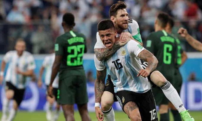 世界盃分組賽D組賽事精華 - 尼日利亞 V 阿根廷