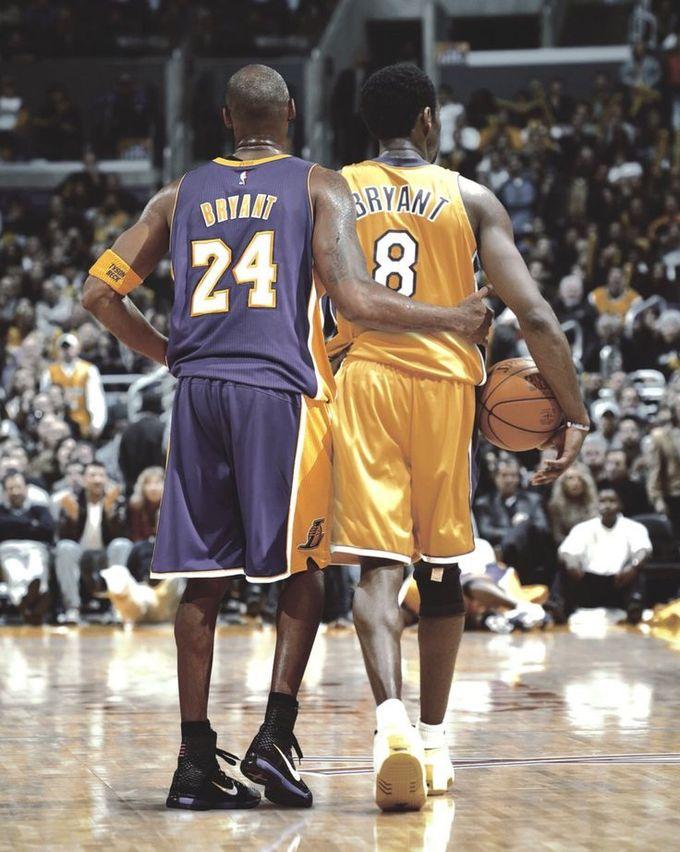 【背號故事】Kobe由 #8 到 #24 。