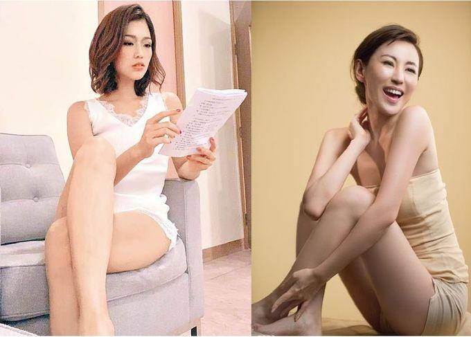 兩個女人戰鬥格:邱芷微、劉心悠