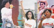 1989年深藍藝人大鞭屍:成龍三罷、肥媽爭民主、譚伯撐學生、民主女神鄺美雲
