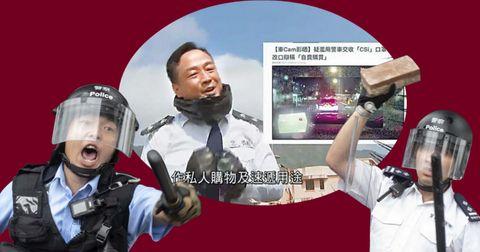 王喜《頭條新聞》諷警抗疫自拍、私賣口罩,警方嬲豬鬧「顛倒是非」