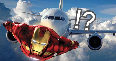 洛杉磯高空驚現「Iron Man」?機師目擊神秘飛行客