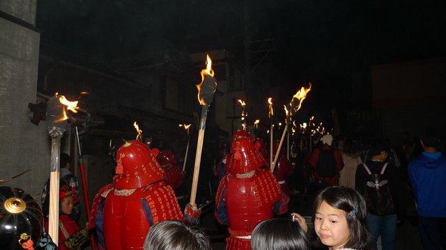 參加長崎雲仙橘神社一年一度的「觀櫻火宴」, 我感受到一種向心力, 一種凝聚力