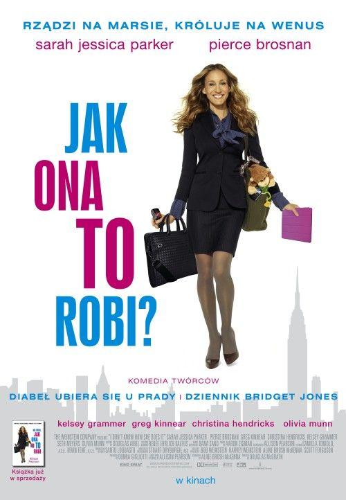 Jak Ona To Robi? / I Dont Know How She Does It (2011) PLSUBBED.DVDRip.XviD-BiDA / Napisy PL