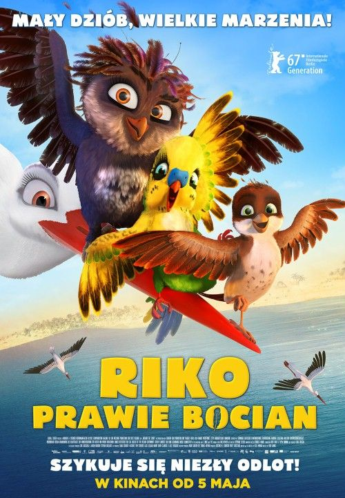 Riko prawie bocian / Richard the Stork / A Stork's Journey (2017) PLDUB.WEB-DL.XviD-KiT / Dubbing PL