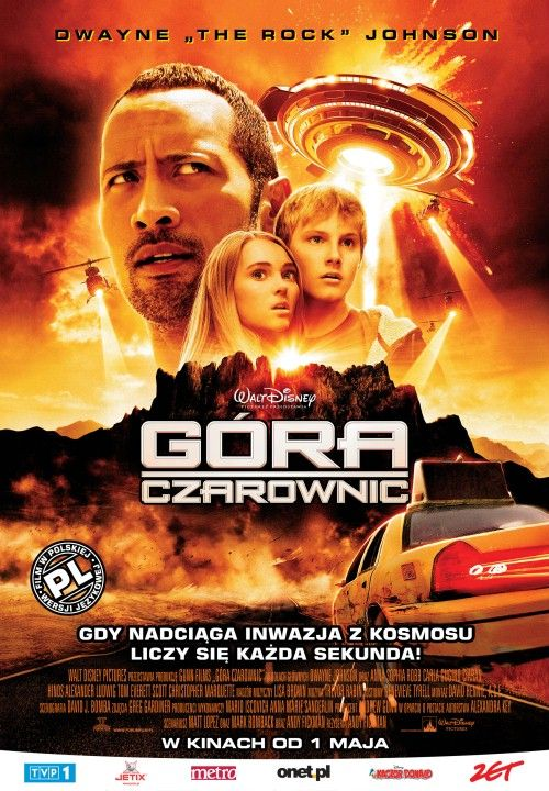 Góra Czarownic / Race to Witch Mountain (2009)PL.DUBB.480p.BRRip.AC3.XviD-CiNEXCELLENT