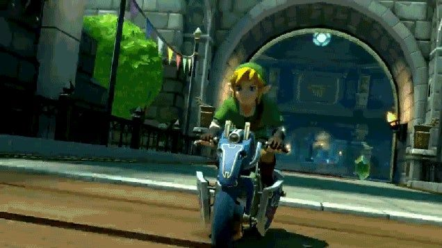 Zelda And F-Zero Come To Mario Kart 8 Next Week