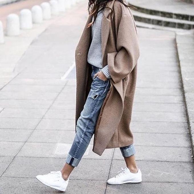 想時尚得來又可以最舒服的狀態示人? 這個冬天大衣+波鞋就達上了要求!
