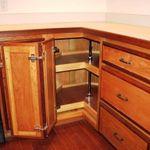 Cherry Wood Corner Cabinet Kitchen Wall Cabinets Kitchen