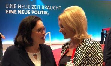 Демпартия поздравила председателя СДП Германии с переизбранием