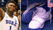 Zion Williamson踏破的Nike PG 2.5 PE或成球鞋史上最貴拍賣品