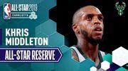 Khris Middleton - 史上第一位從NBA發展聯盟入選成為全明星的球員