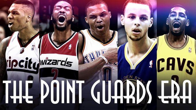 NBA五大現役控球後衛