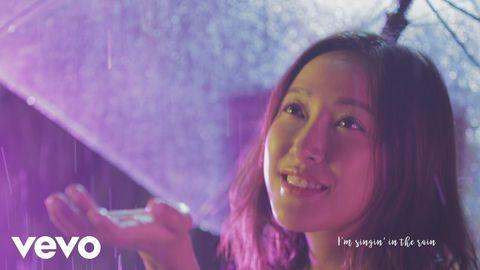 【Singin' in the Rain】水質女生葉巧琳 重新定義「水舞間」