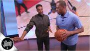 【讓專業的來】Pippen親自教授如何防後撤步,至於雙重後撤他一臉無奈!