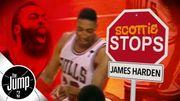 名宿Scottie Pippen說明他會怎樣防守James Harden