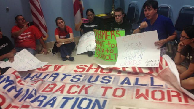 SWER's Tomas Pendola on why Immigrant Rights activist occupied Diaz Balart's office,fasted at BTC