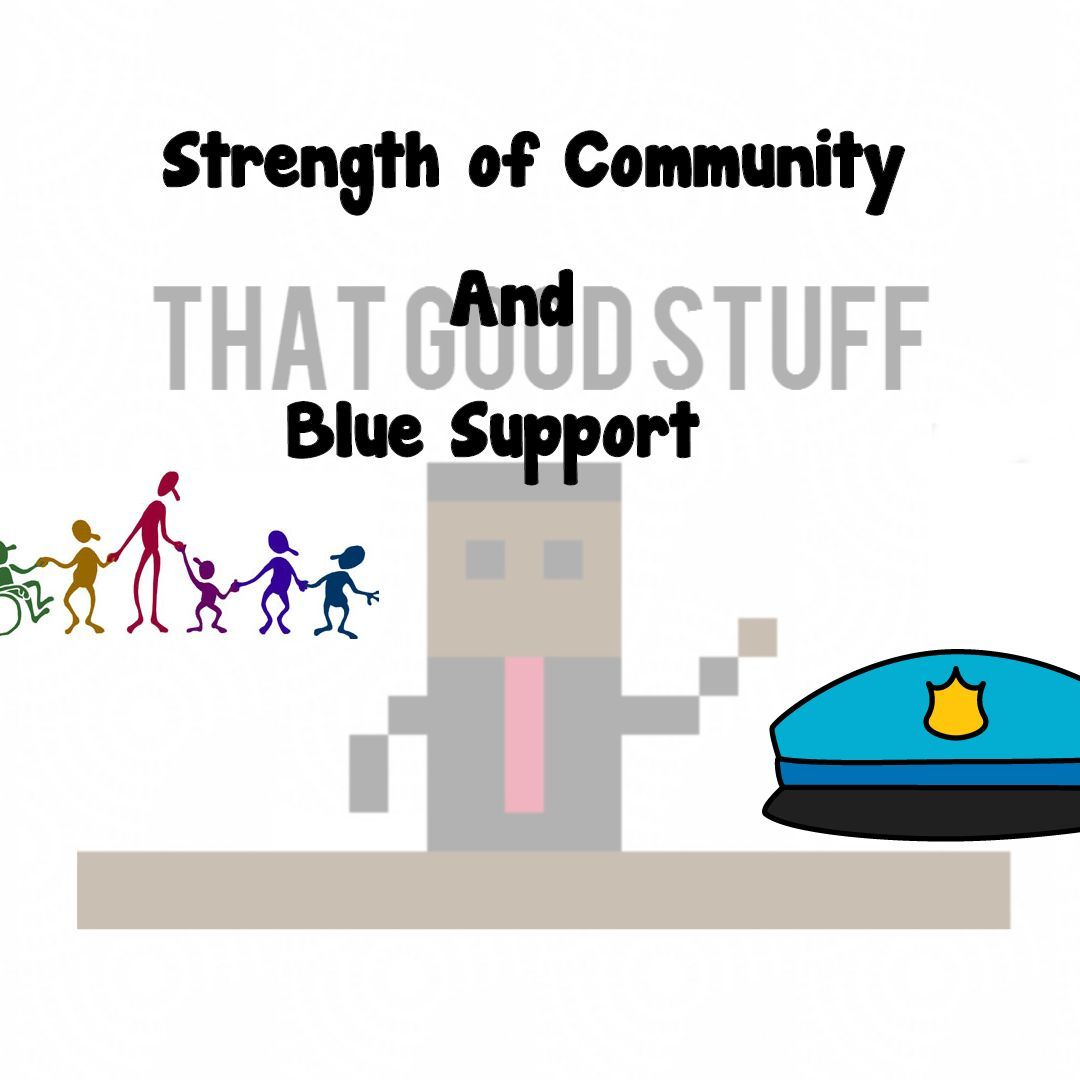 Strength of Community and Blue Support