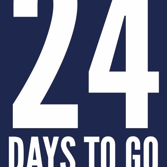 24 days to go #BreakTheWorldRecord