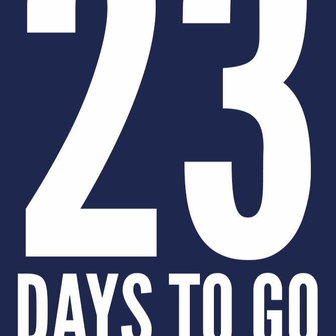 23 days to go to #BreakTheWorldRecord