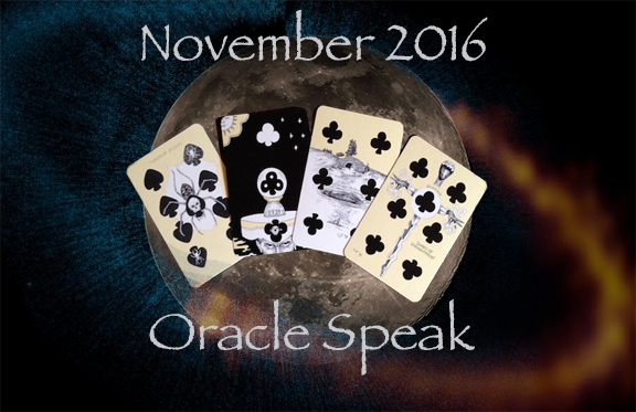 Nov 2016 Forecast: Magical Beings Who Have Forgotten Our Magic