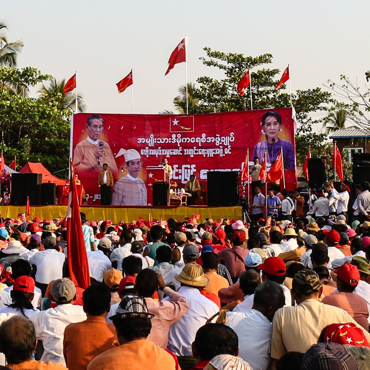Myanmar heads back to the polls