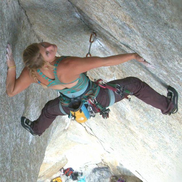 HAZEL FINDLAY 'UK's Boldest Female Climber'