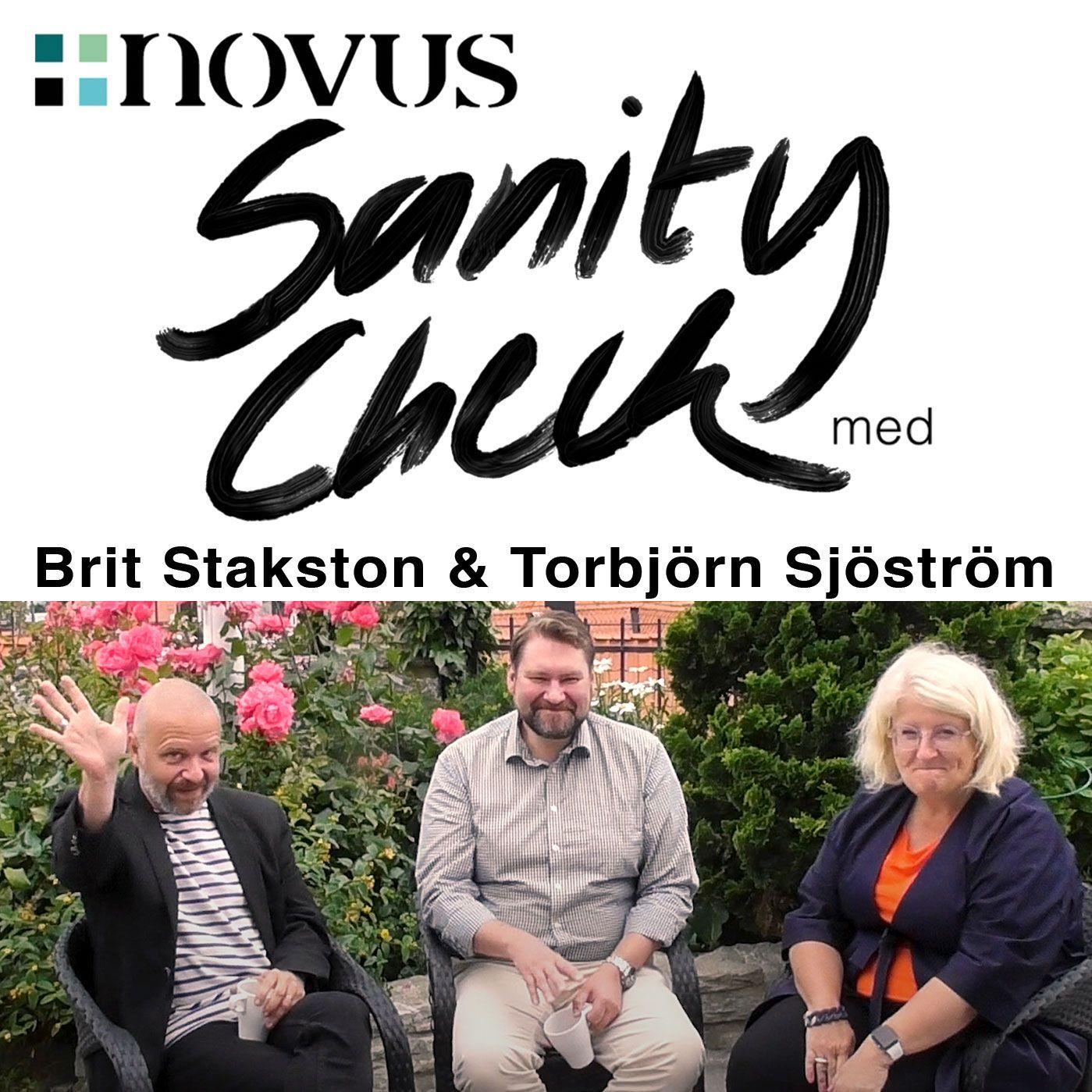 Avsnitt 35 - Brit Stakston & Torbjörn Sjöström gäst Kent Wisti