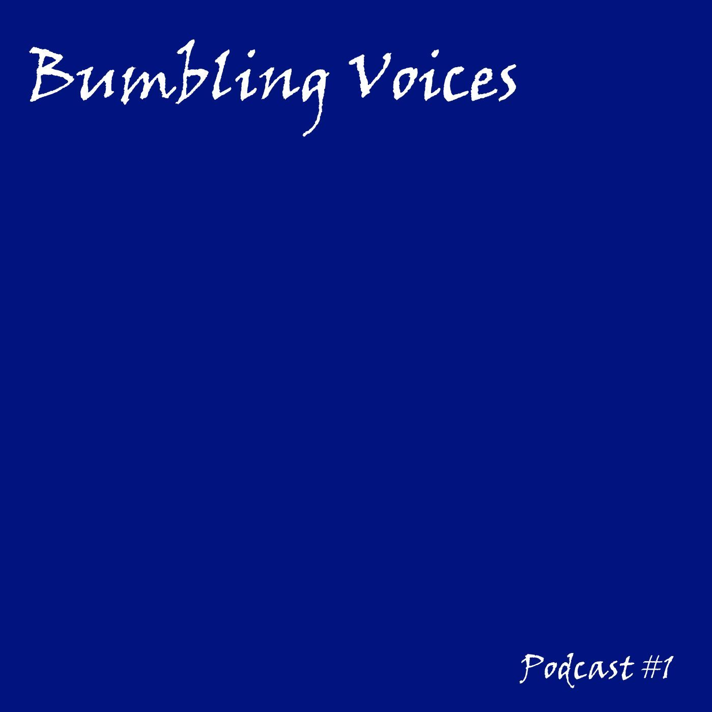 Bumbling Voices Podcast #1
