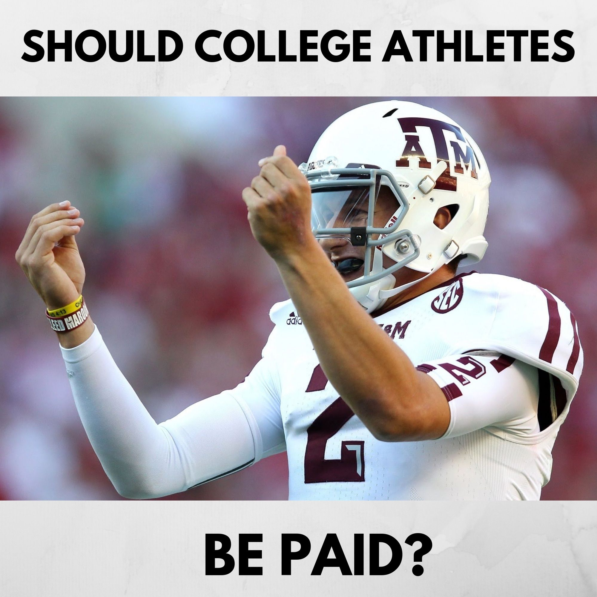 15 Min Fix - Should College Athletes Be Paid?
