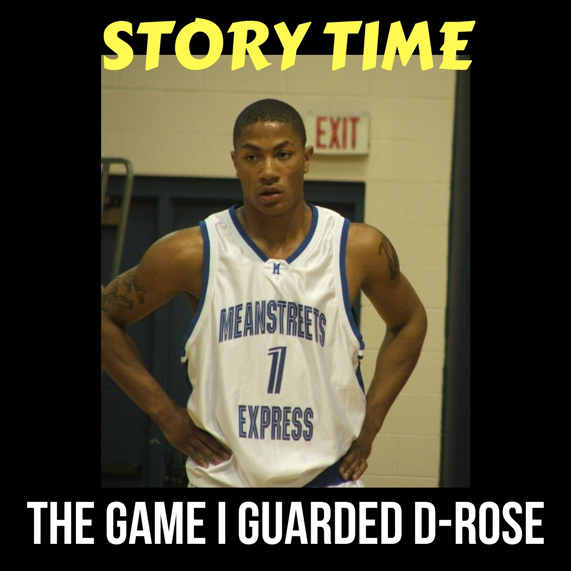 The Game I Guarded Derrick Rose