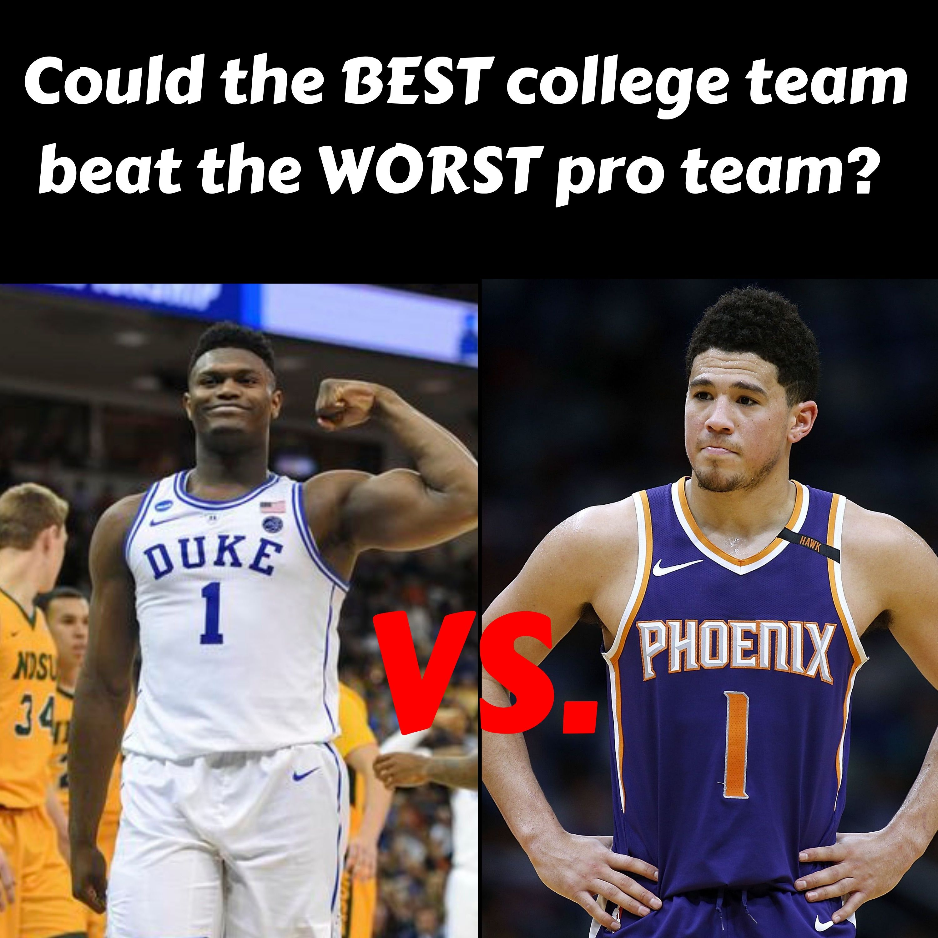 Could The Best College Team Beat The Worst Pro Team?
