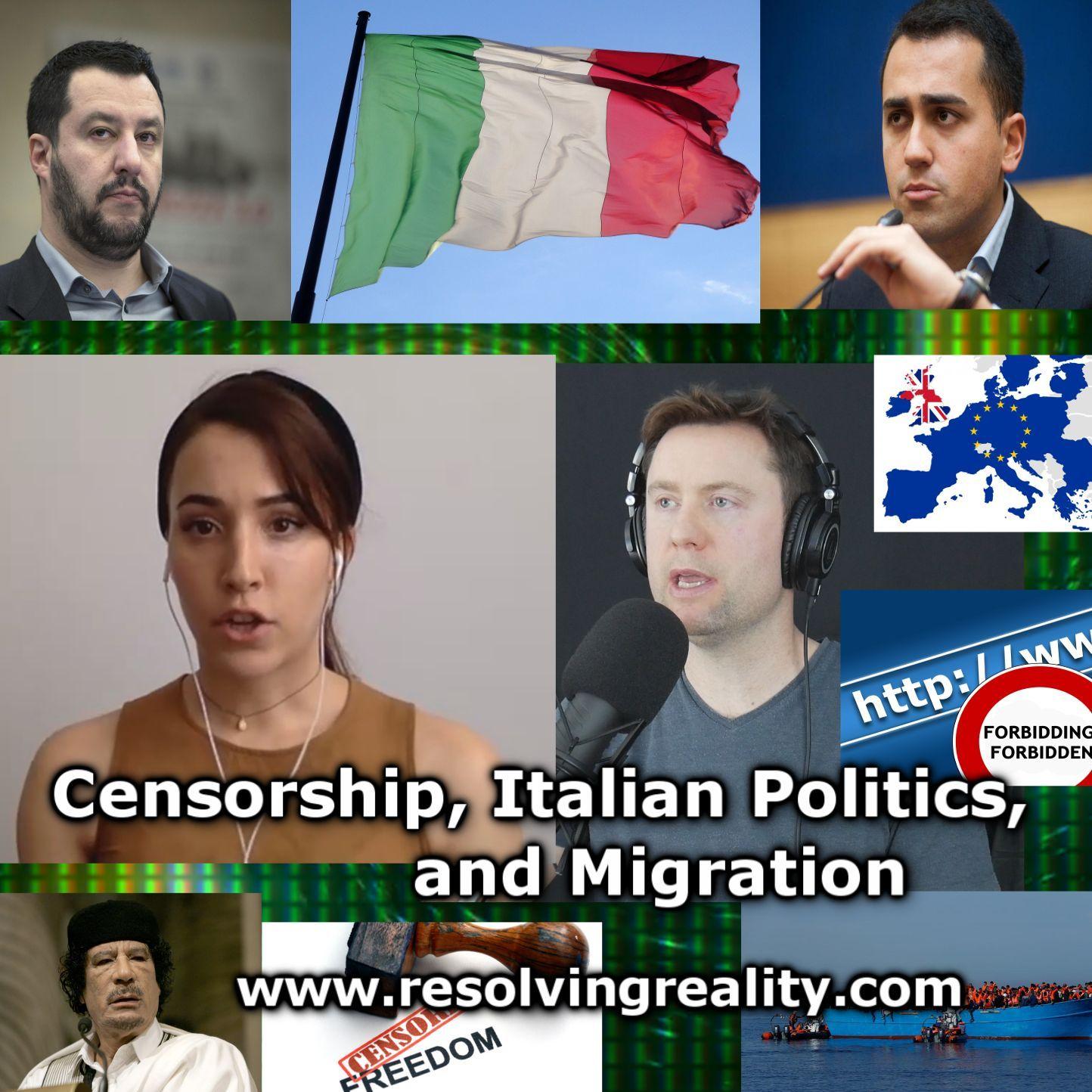 Censorship, Italian Politics, and Migration - Alessandra Bocchi on Resolving Reality