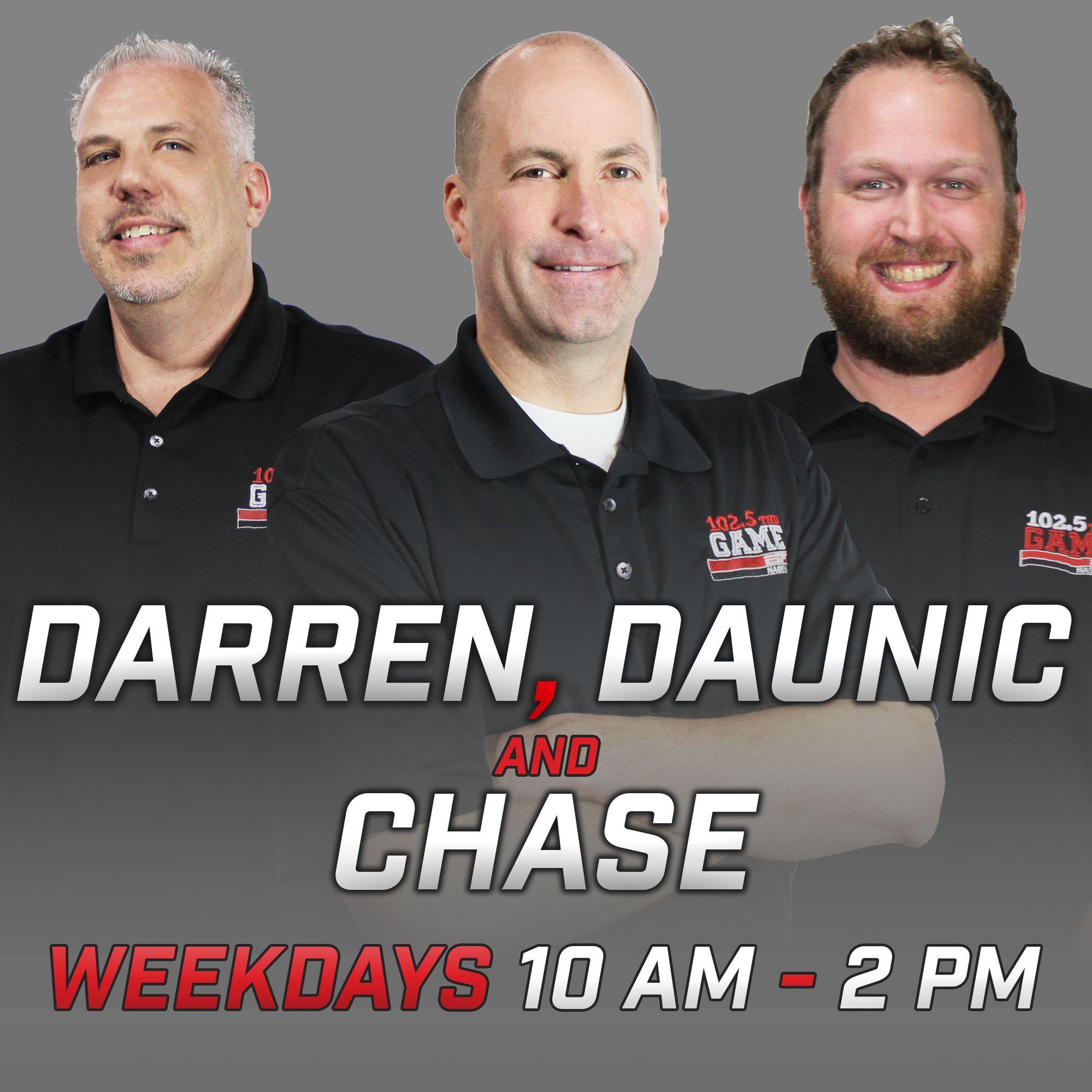 Darren, Daunic & Chase; Hour Three, 11/8/19