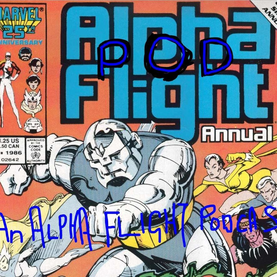 44 Alpha Pod Flight Alpha Flight Annual Number 1 Anthony Kuchar
