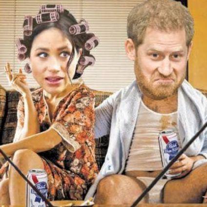 Ugly American Harry & Meghan Go Royal-Gue