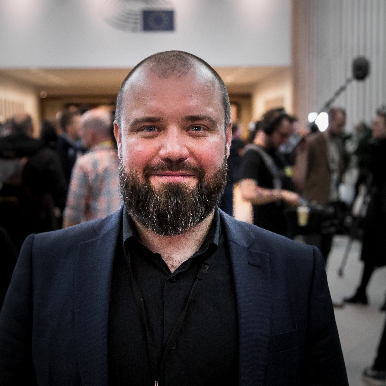 Nikolai Villumsen-Halløj I Parlamentet